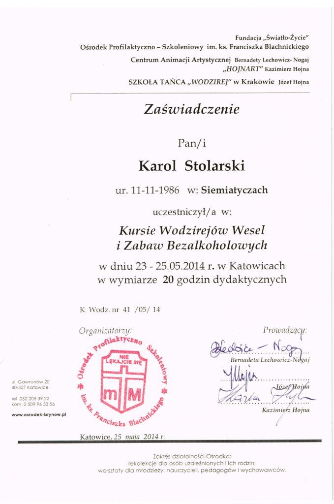 Kurs Wodzirejski